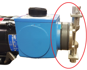 diaphragms on a Madden chemical metering pump