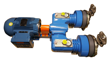 Madden duplex chemical dosing pump