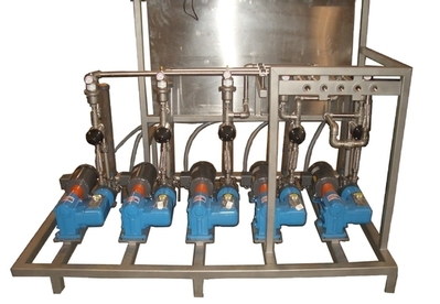 chemical dosing system, robust diaphragm pumps