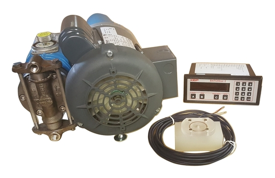 Madden Pump automatic chemical batching pump system